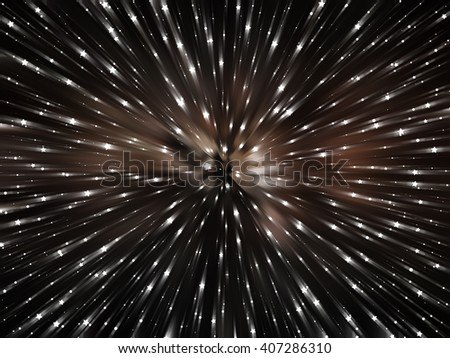 Abstract beige background. Explosion star.