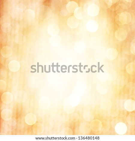 Abstract beige blur background, fine art, soft focus, greeting holiday card, festive frame, magic lights, shiny wallpaper - stock photo