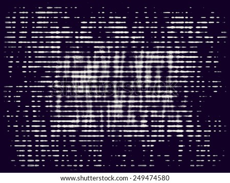 Abstract bitmap grunge background. Monochrome composition of irregular diffused graphic elements.