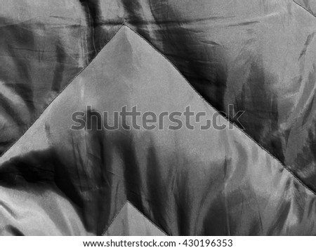 Abstract black and white cloth texture. Background and texture for design.