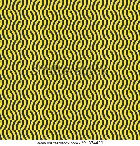 Abstract  black and yellow Background, seamless pattern. Seamless pattern can be used for wallpaper, pattern fills, web page background, surface textures. - stock photo
