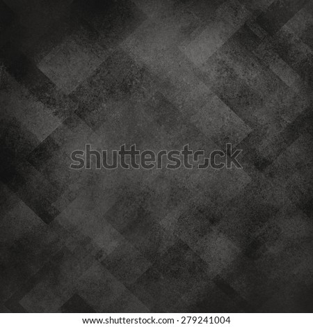 Abstract black background image. Pattern design on old vintage background. Textured black paper. Diagonal block pattern. Geometric shapes and line design elements. Luxury background for web. - stock photo