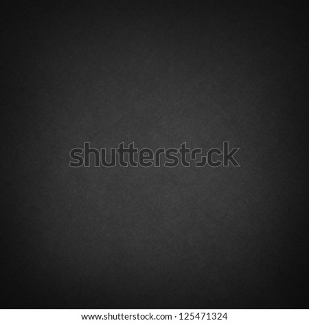 abstract black background layout design, web template of smooth gradient color and light vintage grunge background texture. canvas linen texture material surface with faint design, dark midnight color - stock photo