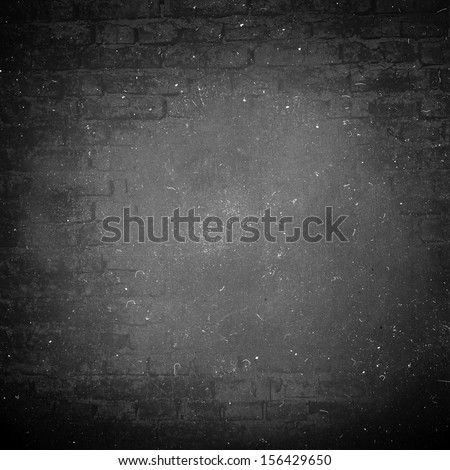 abstract black background. old wall