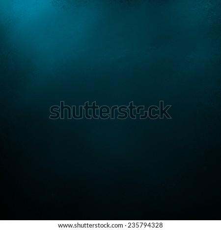 abstract black background, teal blue corner lighting, elegant dark website layout, luxury sophisticated background design - stock photo