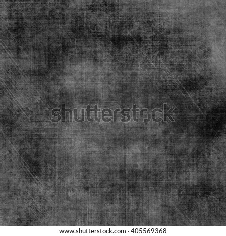 Abstract black background with luxurious vintage grunge background texture, elegant monochrome background with gray center for website template background or luxury brochure, distressed background