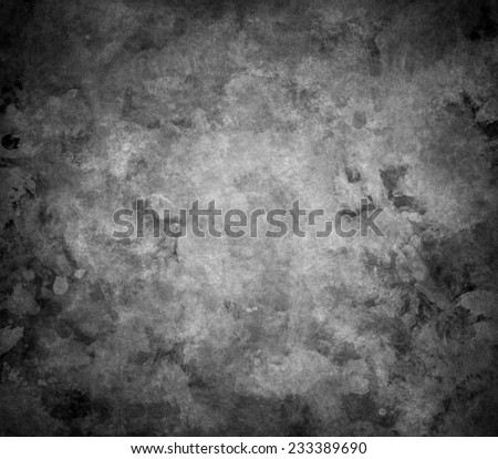 abstract black background with rough distressed aged texture, grunge charcoal gray color background for vintage style cards or web backgrounds or brochure backdrop for ads or other graphic art images - stock photo