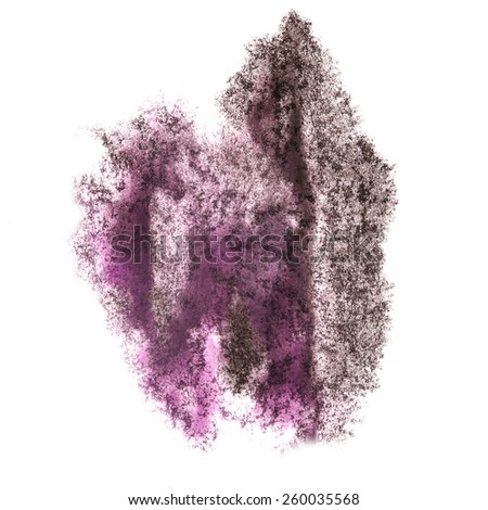 Abstract black,purple watercolor background for your design insult