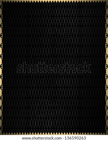 Abstract Black texture. Design template