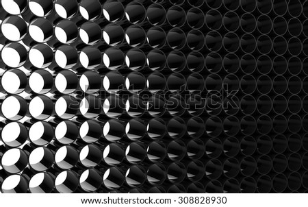 Abstract Black / White Background - stock photo
