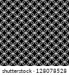 Abstract black&white seamless pattern (raster version) - stock photo