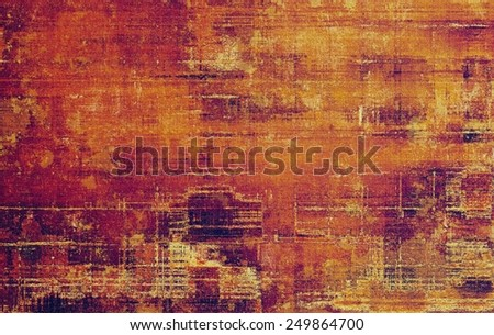 Abstract blank grunge background, old texture with stains and different color patterns: yellow (beige); brown; purple (violet); red (orange); pink - stock photo