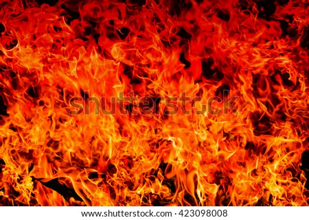 abstract blaze fire flame texture on gradient shade for background use , high resolution - can use to display or montage product - stock photo