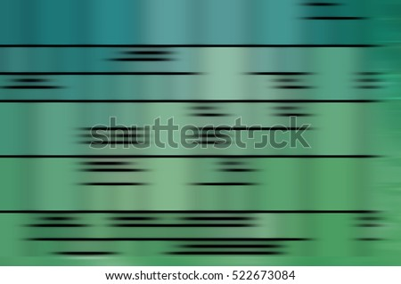 abstract blue and green background. horizontal lines and strips illustration digital.
