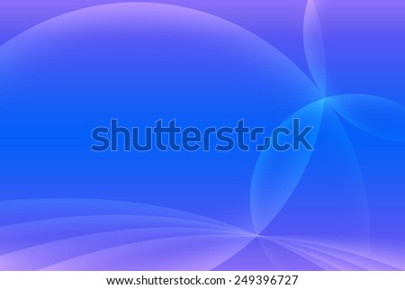 Abstract blue and light purple background. Intersecting arcs background.