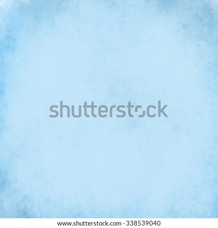 abstract blue background design layout or old blue paper with vintage grunge border texture and white center - stock photo