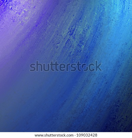 abstract blue background design layout with vintage grunge background texture distressed streaks in waves, bright blue paper for web template background or brochure backdrop or book cover surface - stock photo