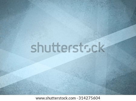abstract blue background design with geometric angle shapes - stock photo