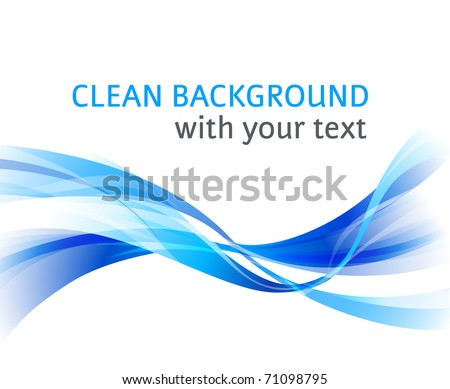abstract blue background for company style design - stock photo