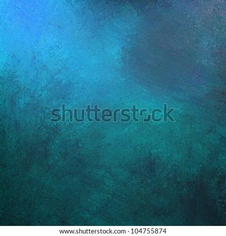 abstract blue background, gray grunge design texture and bright lighting with artistic sponge smeary paint on wall illustration for backdrop, paper, or web background templates - stock photo