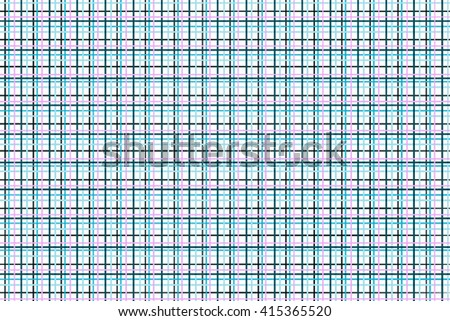 Abstract blue background, grid, striped textured geometric seamless pattern.