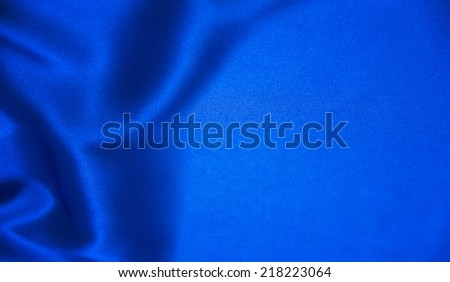 Abstract blue background luxury cloth - stock photo