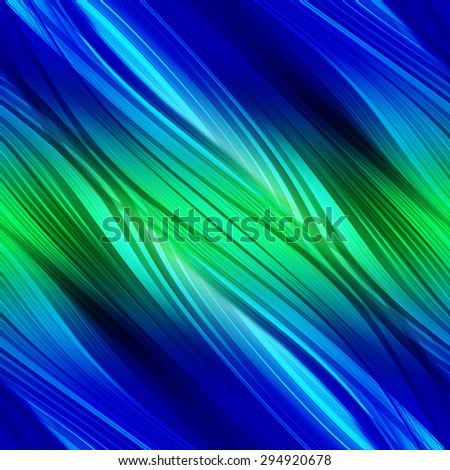 abstract blue background of luminescent lines 