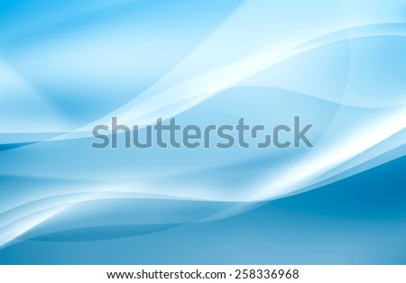 abstract blue background of sea waves - stock photo