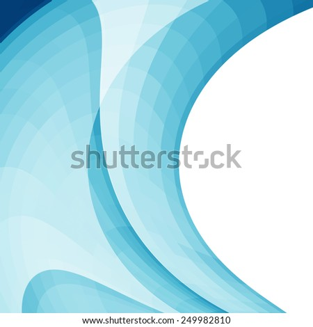 Abstract blue background or texture. design artworks, card. - stock photo