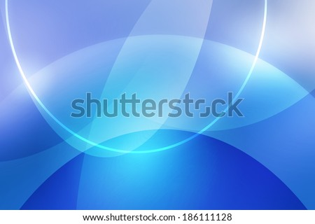 abstract blue background with curve and line