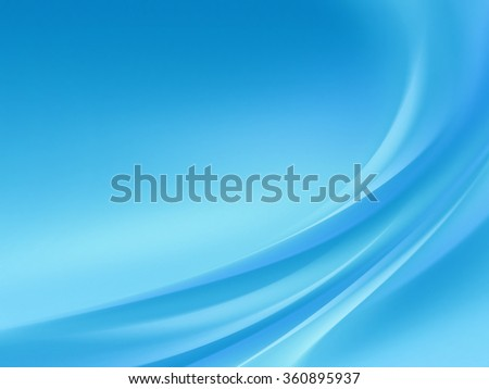 abstract blue background with smooth light lines