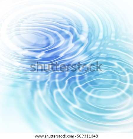 Abstract blue background with water ripples