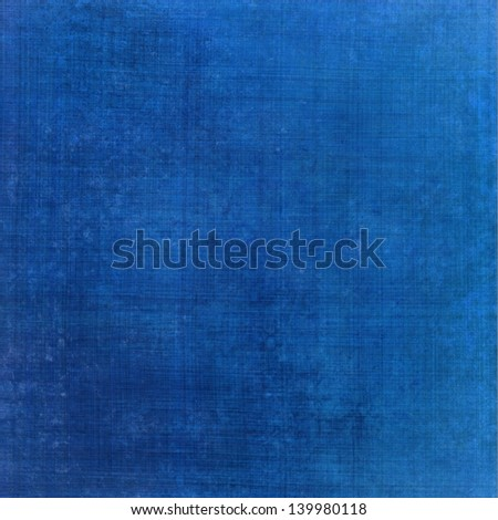 abstract blue background worn shabby vintage grunge background texture layout, web template background design, app page, linen cloth texture brush strokes background close-up macro details, blue paper - stock photo