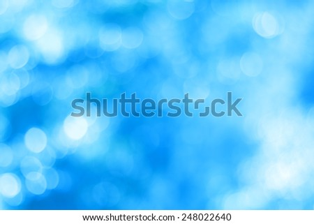 Abstract blue blurry use for background