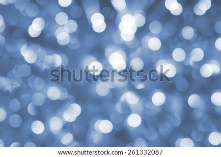abstract  blue bokeh circles  background