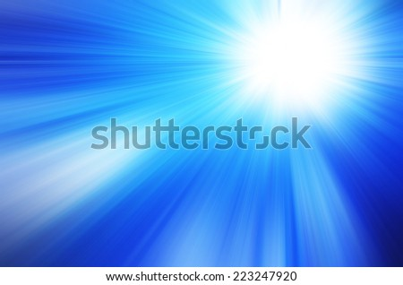 abstract blue  color background with motion blur