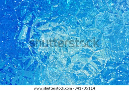 Abstract blue creative background