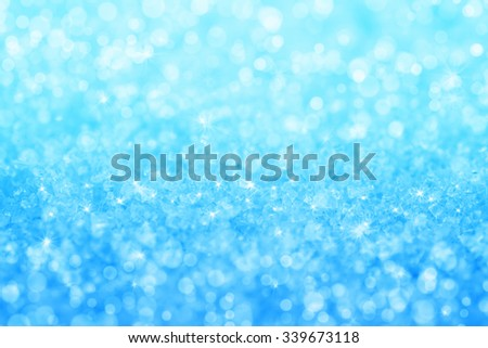 Abstract blue crystal texture background. Holiday background - stock photo