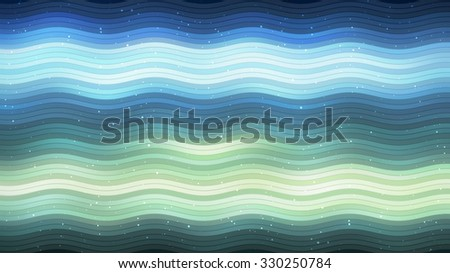 Abstract blue elegant background with glitter and waves