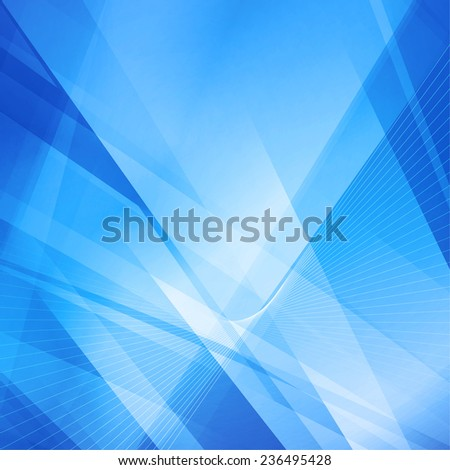 Abstract blue futuristic background. Rasterized version - stock photo