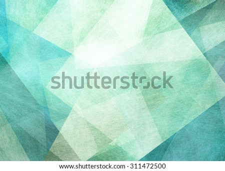 abstract blue green background - stock photo