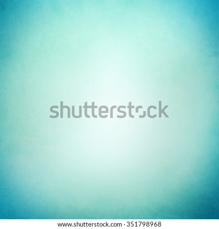Abstract blue green background design with smooth blurred and white beige background faded color in vintage grunge texture. Abstract gradient color background design. - stock photo