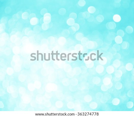 Abstract blue lights on background
