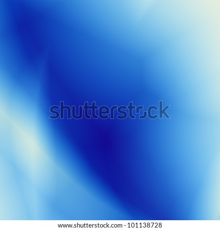 Abstract blue moon background - stock photo