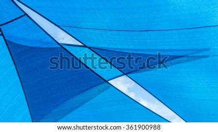 Abstract blue pattern and background