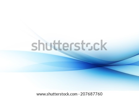 Abstract blue pattern background - stock photo