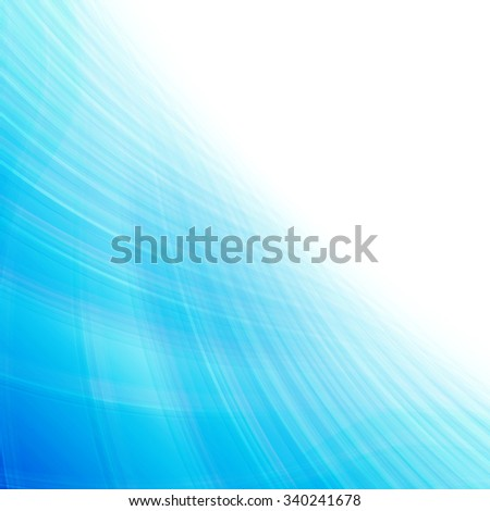 Abstract blue perspective background - stock photo