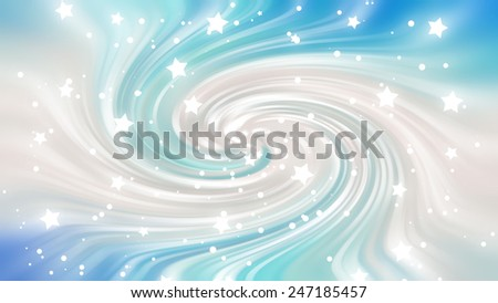 blue spiral galaxy abstract - photo #30