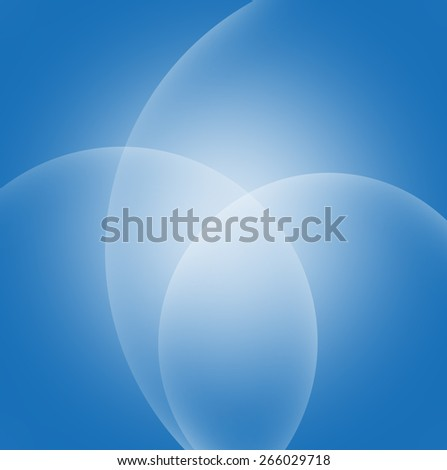 Abstract Blue smooth twist light lines background - stock photo