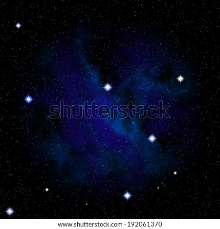 abstract blue space background